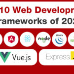 Top 10 Web Development Frameworks in 2021 - Trank Technologies